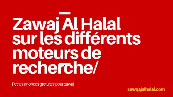 Comment Zawaj Al Halal est indexé sur les différents moteurs de recherche