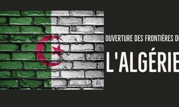 Ouverture des frontières de l'Algérie-Record dans les recherches